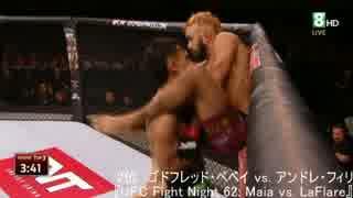 【格闘技】2015年前半期UFCベストサブミッ