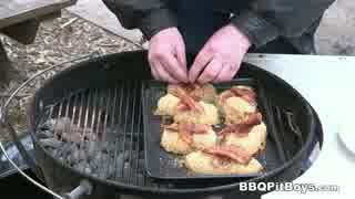 ビールでマリネした鶏胸肉のチーズパン粉焼き