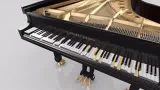 グランドピアノがナイト・オブ・カラフリ