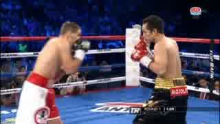 ボクシング ノニト・ドネア vs アンソニ