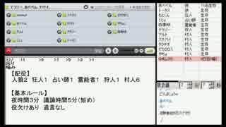 【skype人狼】 ゲスト村 in 12時間人狼