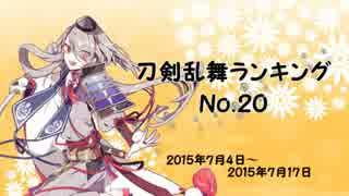 刀剣乱舞ランキング №20