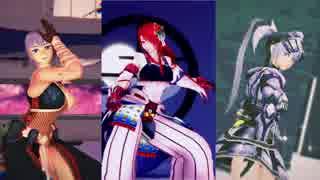 【MHDMMD】Tharros・Lamia・Sakuraで洋楽3