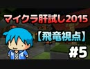【Minecraft】マイクラ肝試し2015 #5【飛竜視点】