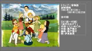 90年代アニメ主題歌集 トラップ一家物語