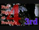 【実況】最強の幼兵を目指して『Five Nights at Freddy's 4』 3rd Night