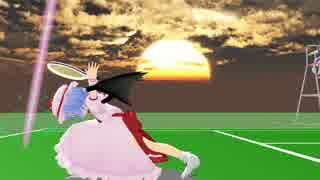 【MMD紙芝居】テニスのおぜう様