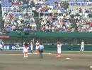 女子プロ野球 京都F 植村美奈子投手の始球式@オリックスWS京都