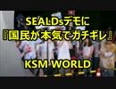 【KSM】SEALDsデモに『国民が本気でガチギレする』愉快な事態が進行中。