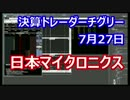 決算トレード 日本マイクロニクス 2015年8月 KTC