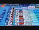 世界水泳 ロシア・カザン2015 女子 200mバタフライ決勝 星奈津美
