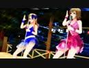 【APヘタリアMMD】ベルxモナ Moon light side【女子フェス】