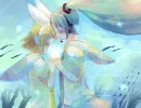 【初音ミク×鏡音リン】Floating Iris【オ