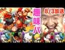 【パズドラ】沙悟浄&猪八戒降臨!超地獄級に挑む!【2015 8/3 ニコ生抜粋】