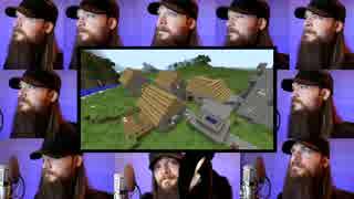 Minecraft「Sweden (Calm 3)」のアカペラ