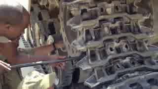戦車整備の訓練