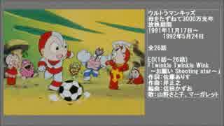 90年代アニメ主題歌集 ウルトラマンキッズ