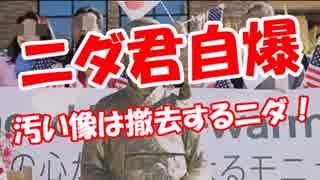【ニダ君自爆】 汚い像は撤去するニダ!