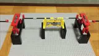 レゴで送電線/ 電気を回転運動に例える#3