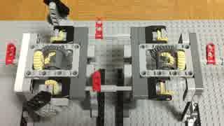 レゴで整流回路/ 電気を回転運動に例える #6