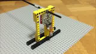 レゴでコンデンサ 直列接続/ 電気を回転運動に例える#7