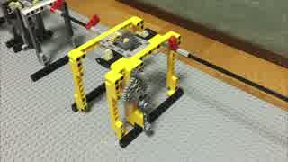 レゴで平滑回路/ 電気を回転運動に例える#9