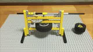 レゴでコイル/ 電気を回転運動に例える#10