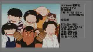 90年代アニメ主題歌集 チエちゃん奮戦記