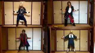 【比較動画1】刀剣コスで踊ってきた『GEN