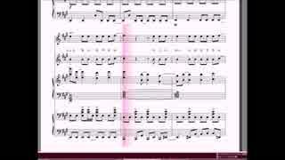 二台ピアノ+vocalの為の『スピードと摩擦(short ver.)』