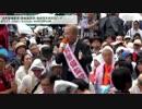 有田芳生議員 安保法案反対デモの警備は「過剰警備」だと文句をつける