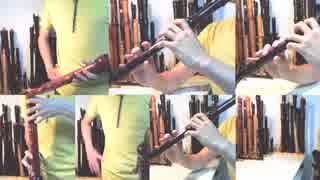 【全部俺の笛】リコーダー多重録音で ダンまち EDテーマ「RIGHT LIGHT RISE 」 thumbnail
