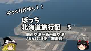 【ゆっくり】北海道旅行記 5 ANA1715便 離着陸編