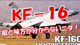 【KF-16】 敵と味方が分からないニダ!