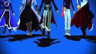 【遊戯王MMD】ライバルで一騎当千【A5DXAL】