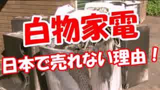 【ウリナラ白物家電】 日本で売れない理由!