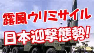 【露風ウリミサイル】 日本は迎撃態勢!