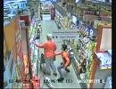 スーパーでの泥棒の一部始終