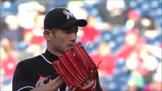【MLB】イチローのメジャー初登板&試合後インタビュー(ロングver.)