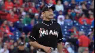 【MLB】イチロー メジャー初登板【MIA】