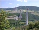 ミヨー橋の建設 定点カメラ