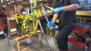 20年放置したバイクのエンジンをかけたら