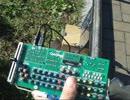 太陽光だけで電子楽器CAmiDionを演奏してみた