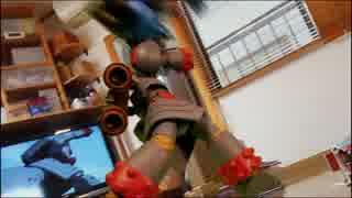 [コマ撮り]ジャイアントロボと鉄人28号を格闘させてみた!再現メイキング
