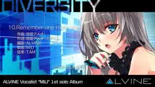 ALVN-0016 DIVERSITY / CD demo / ALVINE thumbnail