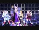 【MMD】VOICEROID4人で「ユカユカ☆ヘヴンリーナイト」