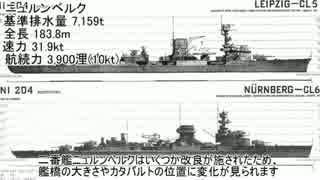 【ゆっくり解説】世界の艦船 ドイツ軽巡