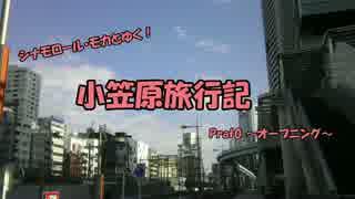 【ゆっくり】小笠原旅行記 Part0 ~オープニング~