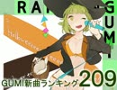 GUMI新曲ランキング#209