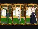 【MMD刀剣乱舞】幸運の王子と槍二人でLove Logic【物吉・蜻蛉切・御手杵】